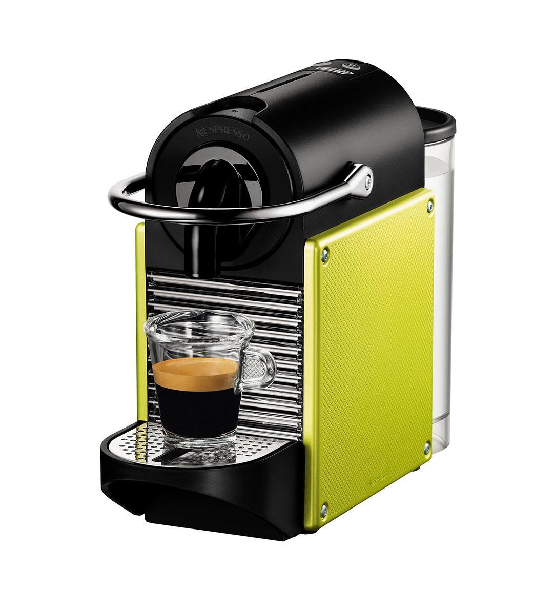 DeLonghi EN 125.L Nespresso Pixie, Green капсульная кофемашина delonghi nespresso en80 pbl