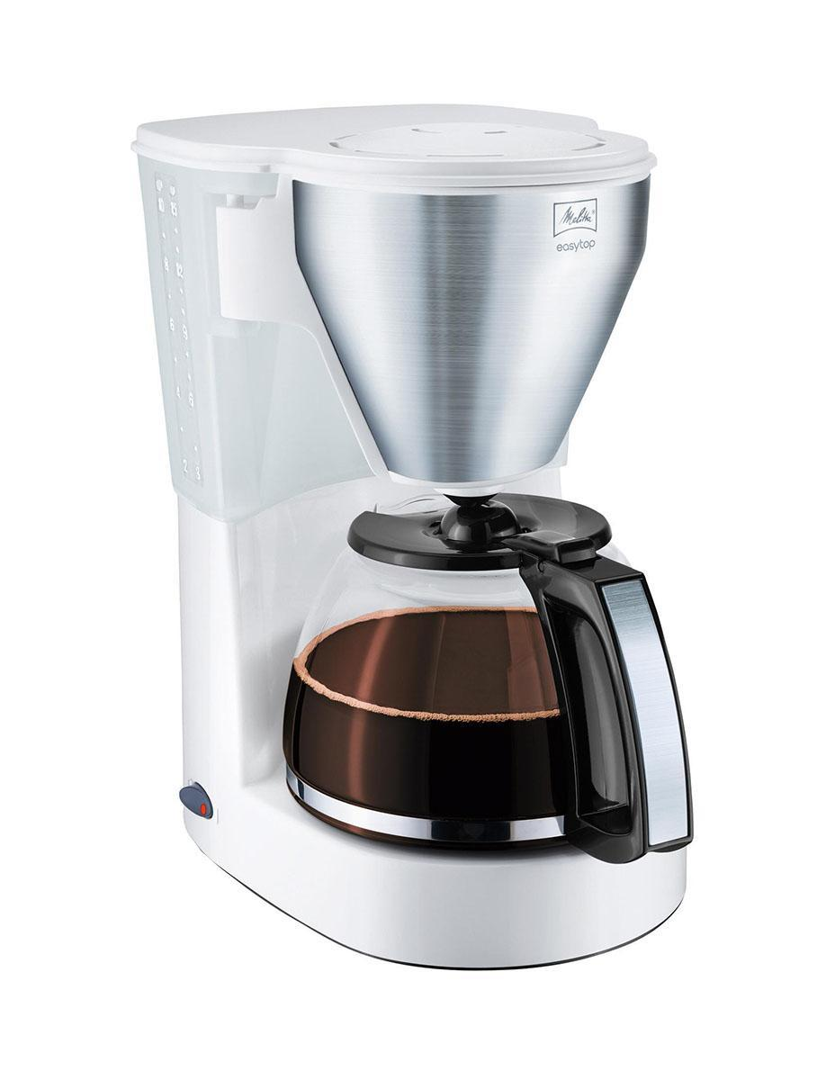 Melitta Easy Top, White Stainless Steel кофеварка skil 2610z02350