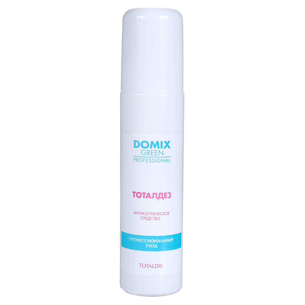 Domix Green Professional Антисептическое средство Totaldis для обработки рук и ступней ног, 150 мл жидкость domix green professional universal neutralizer 150 мл