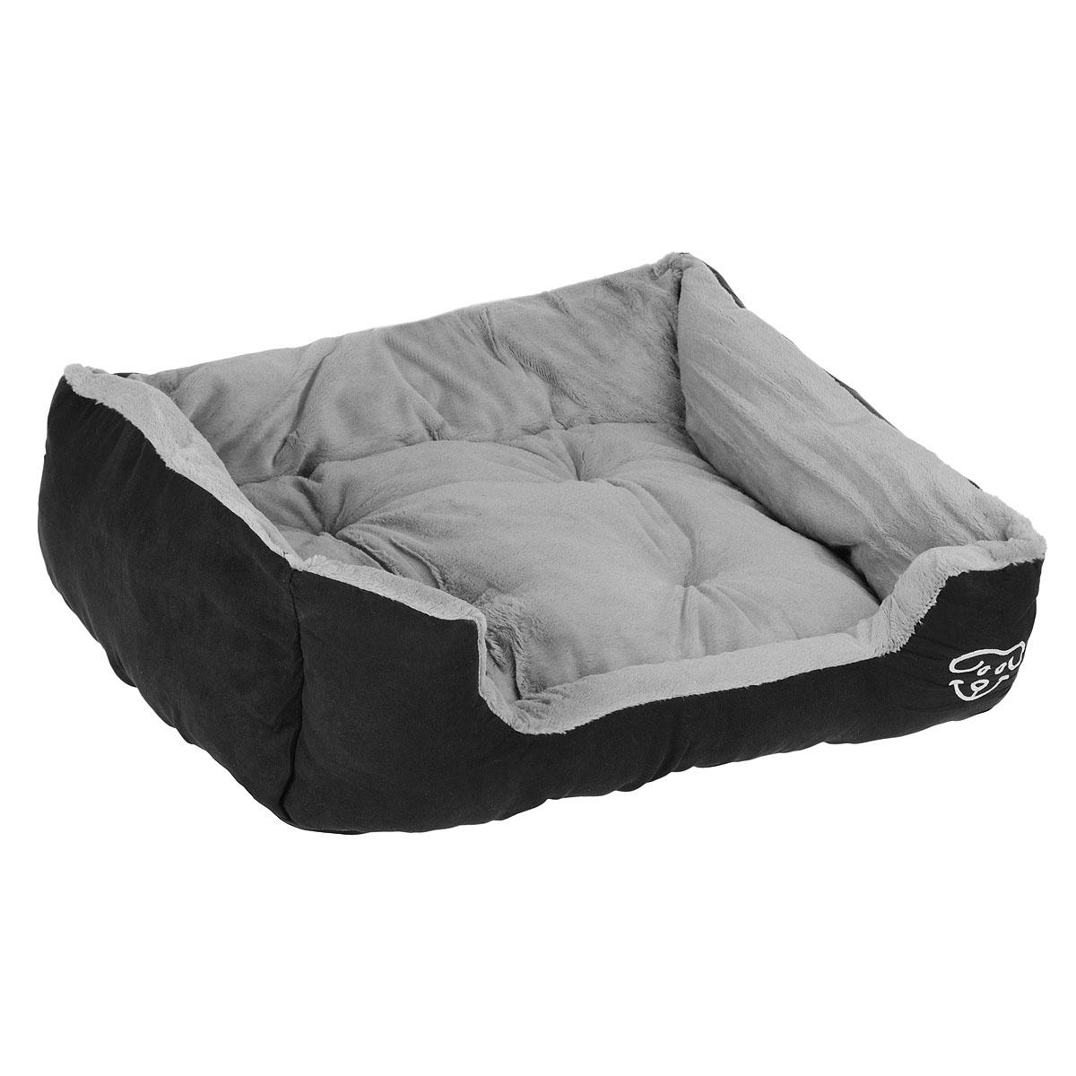 Лежак для собак I.P.T.S. Doomba, 65 см х 60 см х 20 см лежак дарэлл хантер лось 3 с подушкой 65 48 18см