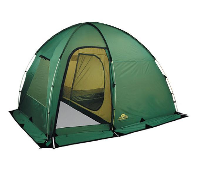Палатка Alexika Minnesota 4 Luxe Alu Green9153.4101Вместительная четырехместная кемпинговая палатка MINNESOTA 4 LUXE Alu- прекрасный выбор для дружеской компании или небольшой семьи, предпочитающей отдых на природе. Планируя отправиться в поход в весенний, летний или осенний период и находясь в поисках палатки, присмотритесь к данной модели. Оптимальное сочетание цена-качество делает ее одной из самых продаваемых палаток. В кемпинговой палатке MINNESOTA 4 LUXE Alu имеется большой тамбур, где вы сможете хранить любые вещи или сделать там небольшую походную кухню. В палатке предусмотрен ряд «приятных» деталей. Например, антимоскитные сетки на каждом из трех входов в тамбур. Никакие насекомые не смогут испортить вам отдых. Также палатка имеет ветрозащитный полог по периметру. Вам не будут страшны ни дождь, ни ветер. А в жаркое время большое вентиляционное окно с ветровым клапаном, которое находится в верхней точке купола, и одно внешнее окно помогут вам получить приток свежего воздуха. Для изготовления дна палатки MINNESOTA 4 LUXE используется специальный материал Polyester 150D, не позволяющий спальным мешкам и другим вещам отсыреть от земли. Кроме этого, модель обладает высокими противопожараными характеристиками. Особая пропитка внешнего слоя палатки способна задержать распространение огня. Вес: 11,7 кг. Количество мест: 4. Сезонность: весна-осень. Размер: 360 x 260 x 205 см. Размер в чехле: 64 x 26 см. Материал тента: Polyester 185T RipStop PU 4000 mm. Материал дна: Polyester 150D Oxford PU 6000 mm. Внутренняя палатка: есть. Материал дуг: Alu 13 mm. Ветроустойчивость: средняя. Количество входов: 3. Цвет: зеленый. Область применения: кемпинг. Технологии:Пропитка, задерживающая распространение огня. Швы герметизированы термоусадочной лентой. Узлы палатки, испытывающие высокие нагрузки, усилены более прочной тканью. Ветрозащитный полог (юбка) по периметру палатки прошит прочной стропой. Молнии на внешнем тенте фиксируются алюминиевым крючком. Внутренняя палатка оснаще