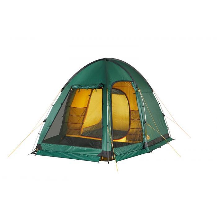 Палатка Alexika Minnesota Alu 3 Luxe 9153.3101, цвет: зеленый палатки greenell палатка дом 2