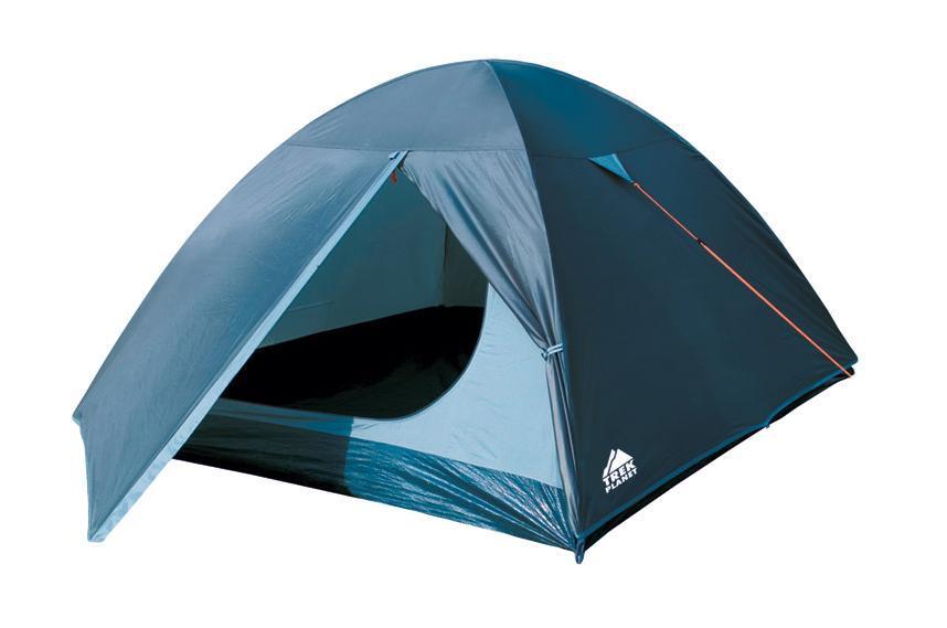 Палатка двухместная Trek Planet Oregon 2, цвет:синий, светло-синий палатка woodland trek 2