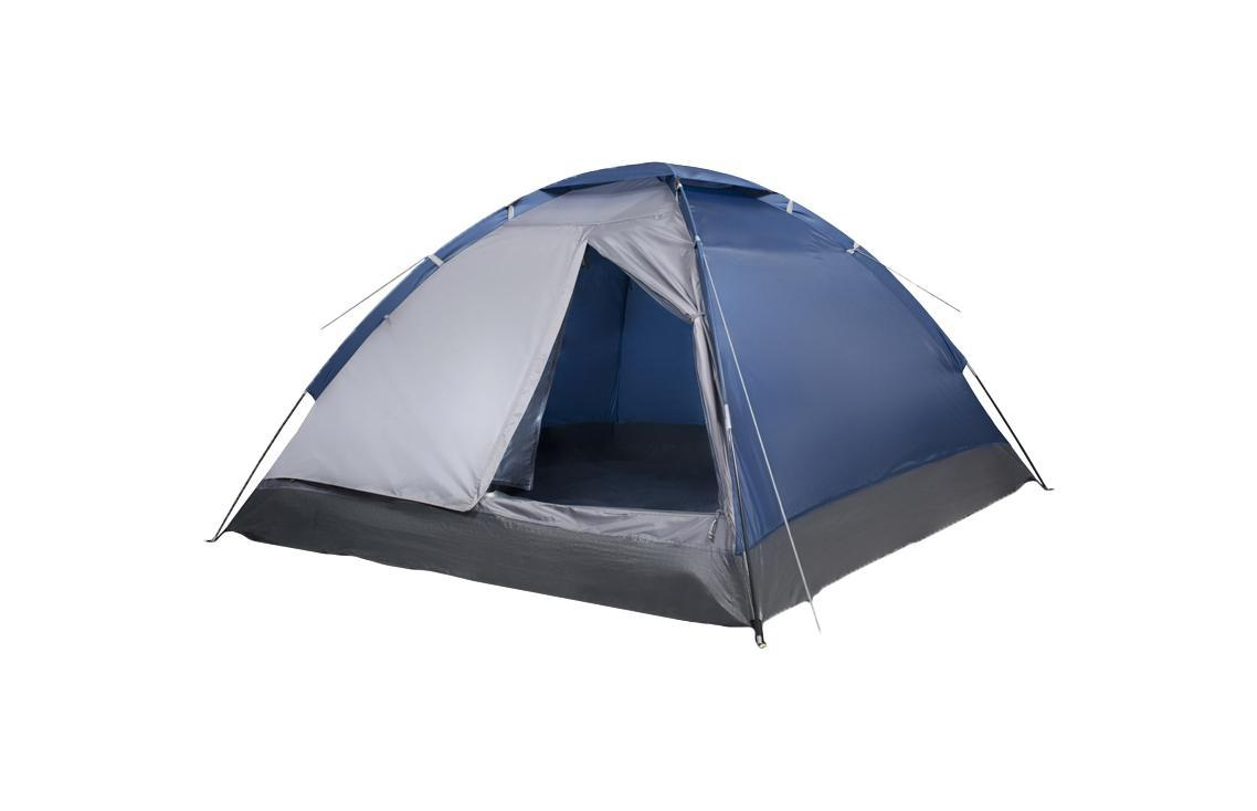 Палатка двухместная Trek Planet Lite Dome 2, цвет: синий, серый