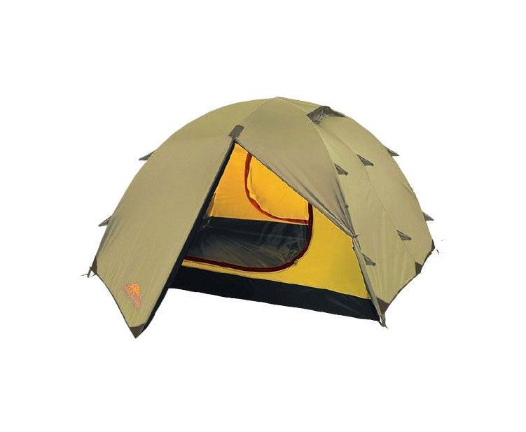Палатка Alexika Rondo 4 Beige9123.4104Палатка RONDO 4 - хороший ветроустойчивый вариант для пеших походов. Благодаря полусферической форме она прекрасно защищает путешественников от дождя. Как и в предыдущих моделях от ALEXIKA, все швы палатки проклеены термоусадочной лентой, что дает дополнительную защиту и предотвращает затекание воды в вентиляционные окна и под дно палатки. RONDO 4 выделяется среди прочих палаток этого класса досконально продуманной функциональностью. Например, предусмотренные конструкторами внутренние карманы дают возможность разместить в зоне досягаемости самые необходимые вещи. Крючок для фонарика обезопасит вас и соседей по палатке от возможных травм и эксцессов в ночное время. Регулируемая вентиляция поддерживает оптимальную влажность и температуру внутри. Для пеших маршрутов палатка RONDO 4 подходит как нельзя лучше - она легкая и компактная. Помимо этого модель очень быстро устанавливается. Палатка имеет два тамбура, что позволит вам надежно укрывать свой багаж от осадков. Кроме этого ткань палатки пропитана смесью, задерживающей распространение огня, поэтому даже в случае опасности в запасе всегда будет несколько минут для спасения самых необходимых вещей. Вес: 4,8 кг. Количество мест: 4. Сезонность: весна-осень. Размер: 420 x 220 x 125 см. Размер в чехле: 20 x 52 см. Материал тента: Polyester 190T PU 4000 mm. Материал дна: Polyester 150D Oxford PU 6000 mm. Внутренняя палатка: есть. Материал дуг: Alu 8.5 Alu 9.5. Ветроустойчивость: средняя. Количество входов: 2. Цвет: бежевый. Область применения: трекинг. Технологии:Пропитка, задерживающая распространение огня. Швы герметизированы термоусадочной лентой. Узлы палатки, испытывающие высокие нагрузки, усилены более прочной тканью. Край тента обшит прочной стропой. Молнии на внешнем тенте фиксируются алюминиевым крючком. Внутренняя палатка оснащена противомоскитной сеткой, шестью карманами, кольцом для фонаря и полочкой для мелких предметов. Эффективная система вентиляции состоит из двух венти