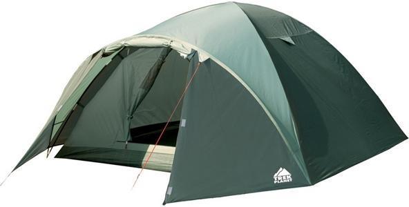 Палатка двухместная TREK PLANET Denver Air 2, цвет: оливковый70175Двухместная палатка куполообразной формы Trek Planet Denver Air 2 с отличной вентиляцией, вместительным тамбуром и двумя входами, отлично подходит для длительного путешествия.Особенности модели:Простая и быстрая установка.Тент палатки из полиэстера, с пропиткой PU водостойкостью 3000 мм, надежно защищает от дождя, все швы проклеены.Дно палатки из прочного полиэстера Oxford водостойкостью 6000 мм.Каркас из жестких, прочных и легких композитных дуг (Durapol).Внутренняя палатка из дышащего полиэстера, обеспечивает вентиляцию помещения и позволяет конденсату испаряться, не проникая внутрь палатки.Два входа во внутреннюю палатку с противоположных сторон тента.Удобная D-образная дверь с москитной сеткой в полный размер на каждом входе во внутреннюю палатку.Вентиляционное окно.Внутренние карманы для мелочей.Возможность подвески фонаря в палатке.Для удобства транспортировки и хранения предусмотрен современный компрессионный чехол с ручкой.Trek Planet - проверенный туристический бренд по производству товаров для туристов, охотников и рыболовов: палатки для активного отдыха, спальники, рюкзаки, туристические коврики и аксессуары. Trek Planet использует лучшие износостойкие материалы и последние технологические разработки.Размер: 150 см х (210+80) см х 110 см.Размер внутренней палатки: 150 см х 210 см х 110 см.Размер палатки (в собранном виде): 16 см х 60 см.