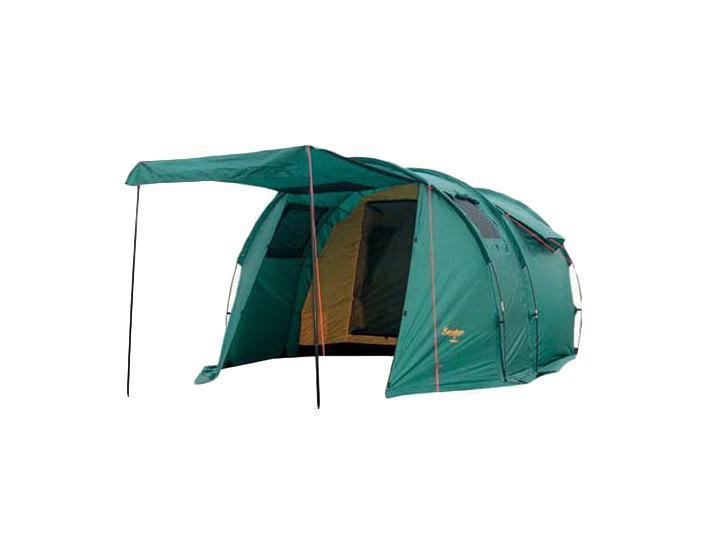 Палатка CANADIAN CAMPER TANGA 3 (цвет woodland)30300011Туристическая палатка Canadian Camper Tanga 3 состоит из двух частей - внешнего тента и внутренней палатки.Каркас из стекловолокна располагается снаружи внешнего тента. У палатки Canadian Camper Tanga 3 два входа, один из них ведет в большой тамбур, а один расположен с задней стороны палатки. Передняя дверь превращается в козырек и делает палатку Canadian Camper Tanga 3 ещё уютнее. Входы и огромные окна палатки защищены антимоскитными сетками. Процесс установки палатки Tanga 3 очень простой. Эта большая, просторная, высокая палатка очень удобна для использования в качестве кемпинговой для компании из двух-трех человек.Что взять с собой в поход?. Статья OZON Гид