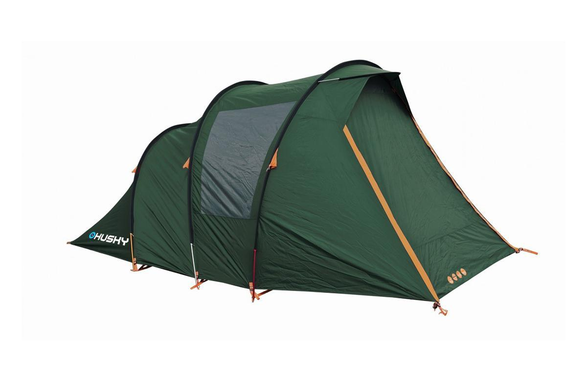 Палатка Husky Baul 4 Dark Green