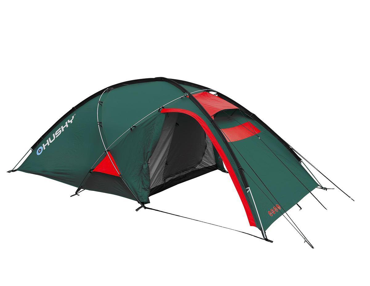Палатка Husky Felen 2-3 Dark Green, цвет: темно-зеленыйУТ-000048323Трехсезонная просторная палатка Felen 2-3 отлично подойдет для путешествий. Палатка отличается хорошей устойчивостью, имеет два входа и просторный тамбур. В комплекте компрессионный мешок.Особенность конструкции платки состоит в системе фиксации несущих дуг благодаря внешней конструкции. Эта система основывается на карманах из ткани, сквозь которые продеваются дуги и петлях из усиленного пластика. Такой вид фиксации позволяет легко и быстро поставить палатку даже в экстремальных погодных условиях.Палатка комплектуется алюминиевыми колышками и комплектом для ремонта. Характеристики: Размер палатки: 340 см x 165 см х 120 см. Размер спального места: 210 см х 150 см. Материал внешнего тента: 210Т Polyester Ripstop с полиуретановым покрытием 6000 мм/см2. Материал внутреннего тента: воздухопроницаемый нейлон 210T, вставки из противомоскитной сетки. Материал пола: 190Т Polyester с полиуретановым покрытием 10000 мм/см2. Вес: 4,4 кг. Артикул:FELEN 2-3. Производитель: Чехия.