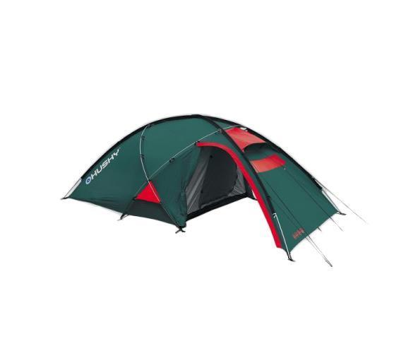 Палатка Husky Felen 3-4 Dark Green, цвет: темно-зеленый палатки greenell палатка дом 2