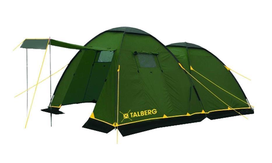 Палатка Talberg Spirit 4УТ-000052581Классическая кемпинговая палатка Talberg Spirit 4 с большим спальным отделением, большим удобным тамбуром и юбкой от ветра и насекомых предназначена для пешего туризма и кемпинга.Внутренняя палатка выполнена из дышащего полиэстера, швы наружного тента проклеены.Вы несомненно оцените скорость, с которой может быть установлена эта палатка. Идеально подходит для четырех туристов.Характеристики:Количество мест: 4. Размер палатки: 450 см х 250 см х 190 см. Спальная комната: 230 см х 230 см. Количество входов: 2. Дуги: HQ FiberGlass 11 мм + сталь 16 мм. Материал внешнего тента: полиэстер 190T/75D 4000 mm. Материал внутреннего тента: полиэстер. Материал дна: армированный полиэтилен. Размер палатки в собранном виде: 69 см х 20 см х 20 см. Вес: 11 кг. Изготовитель: Китай.