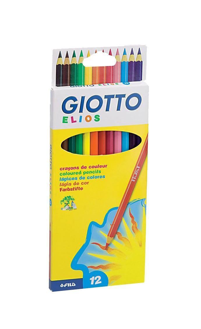 Цветные карандаши Giotto Elios, 12 цветов275000 От производителяЦветные карандаши Glotto Elios непременно, понравятся вашему юному художнику. Набор включает в себя 12 ярких насыщенных цветных карандаша гексагональной формы. Идеально подходят для школы. Карандаши изготовлены из сертифицированного дерева, экологически чистые, имеют прочный неломающийся грифель, не требующий сильного нажатия и легко затачиваются. Порадуйте своего ребенка таким восхитительным подарком!Цветные карандаши Glotto Elios непременно, понравятся вашему юному художнику. Набор включает в себя 12 ярких насыщенных цветных карандаша гексагональной формы. Идеально подходят для школы. Карандаши изготовлены из сертифицированного дерева, экологически чистые, имеют прочный неломающийся грифель, не требующий сильного нажатия и легко затачиваются. Порадуйте своего ребенка таким восхитительным подарком! Характеристики:Материал:дерево, грифель. Диаметр карандаша:0,7 см. Длина карандаша:18 см. Размер упаковки:22,5 см х 8,5 см х 0,9 см. Изготовитель:Китай.