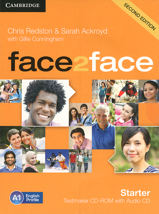 Face2Face: Starter: Testmaker CD-ROM with Audio CD redston chris cunningham gillie face2face 2ed starter sb dv online wb pk
