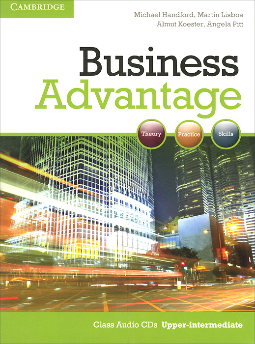 Business Advantage: Upper-intermediate: Class Audio CDs (аудиокурс на 2 CD) cambridge english business benchmark upper intermediate business vantage student s book