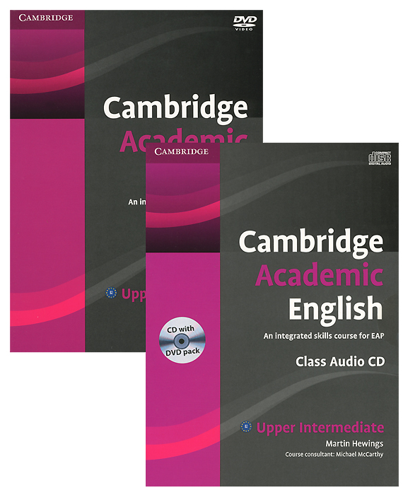 Cambridge Academic English: B2 Upper-intermediate: An Integrated Skills Course for EAP (аудиокурс на CD и DVD) обучение карты