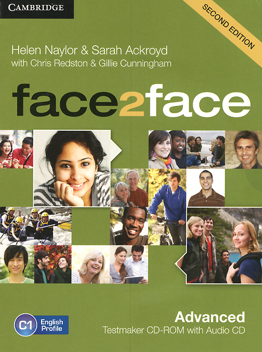 Face2Face: Advanced: Testmaker CD-ROM and Audio CD redston c face2face intermediate students book with cd rom audio cd