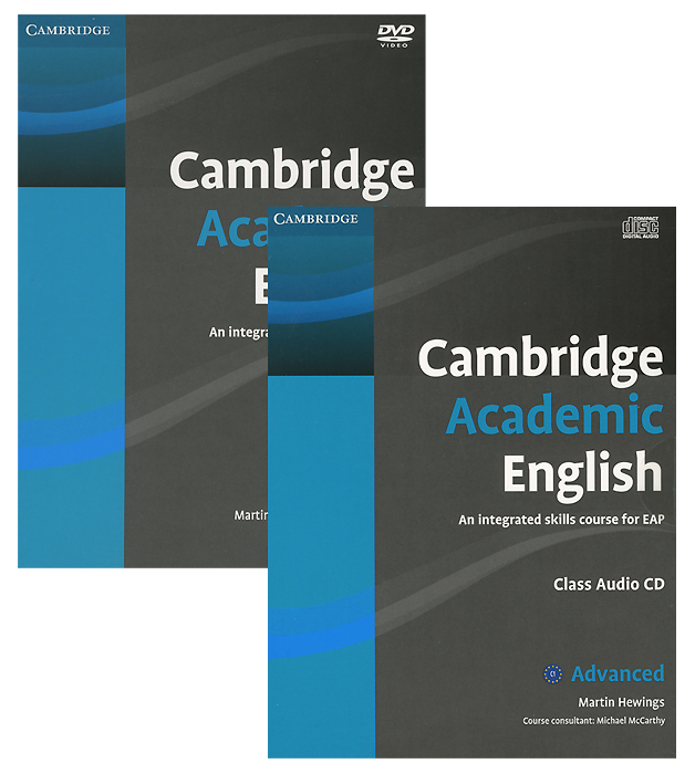 Cambridge Academic English: C1 Advanced: An Integrated Skills Course for EAP (аудиокурс CD + DVD)
