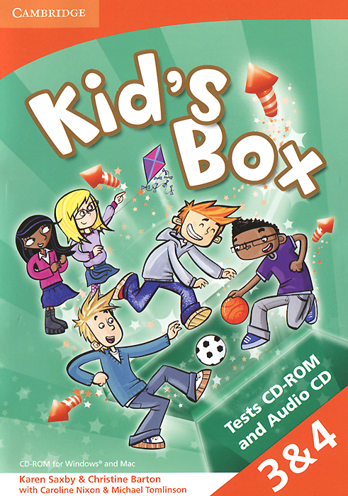 Kid's Box: Levels 3-4: Tests CD-ROM and Audio CD