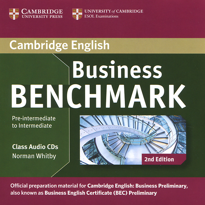 Business Benchmark: Pre-intermediate to Intermediate (аудиокурс на 2 CD) cambridge preliminary english test 6 self study pack student s book with answers and audio cds 2