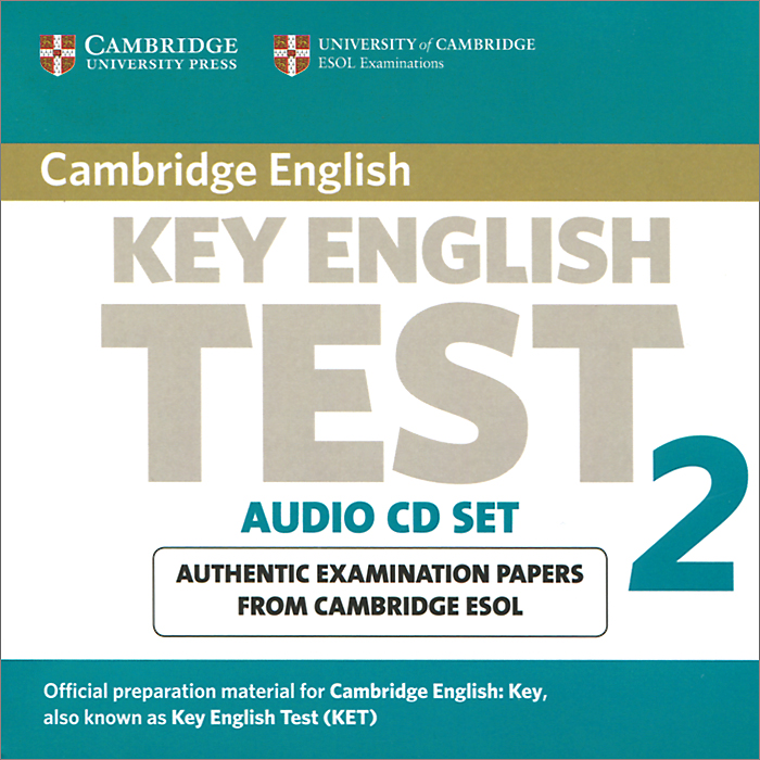 Key English Test 2: Examination Papers from Cambridge ESOL Examinations (аудиокурс на 2 CD) patterson roman images selected papers from the english ins titute 1982