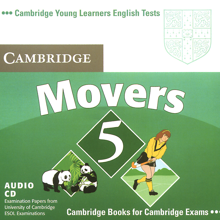 Movers 5 (аудиокурс CD) cambridge movers 1 answer booklet
