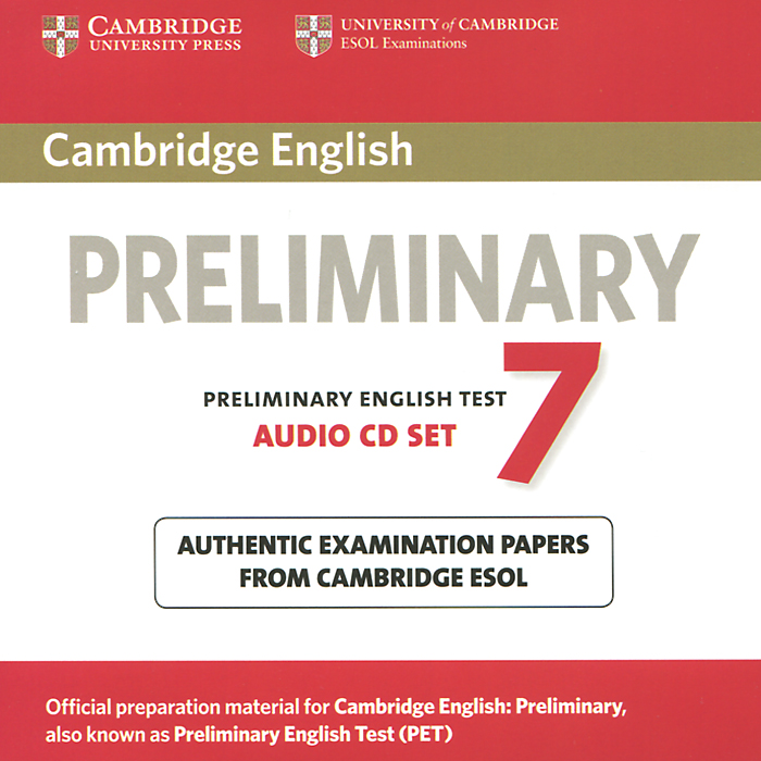 Preliminary 7 (аудиокурс на 2 CD) cambridge preliminary english test 4 teacher s book examination papers from the university of cambridge esol examinations