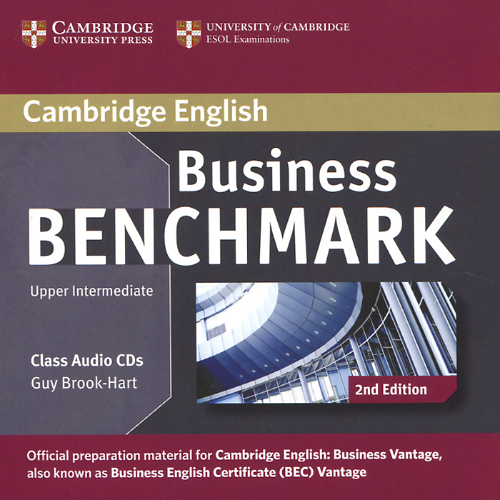 Business Benchmark: Upper Intermediate (аудиокурс на 2 CD) brook hart g clark d business benchmark 2nd edition upper intermediate bulats and business vantage teacher s resource book