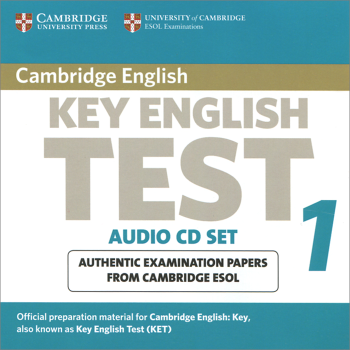 Key English Test 1: Examination Papers from Cambridge ESOL (аудиокурс на 2 CD) evans v cae practice tests 1 teacher s book for the revised cambridge esol cae examination