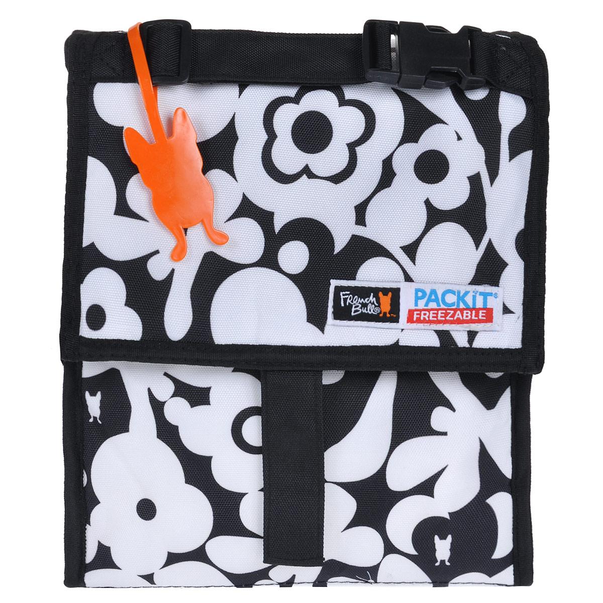 Сумка для ланча PACKIT Personal Cooler, изотермическая, цвет: черно-белый. PKT-PC-CRU сумка изотермическая 25л температурный режим до 12 часов greenglade