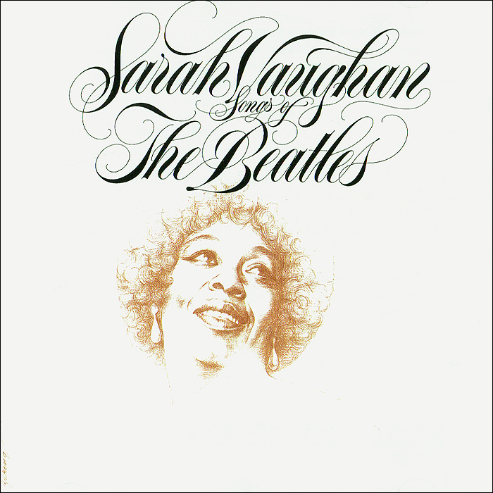 Sarah Vaughan. Songs Of The Beatles футболка terekhov girl terekhov girl te024ewakhs2