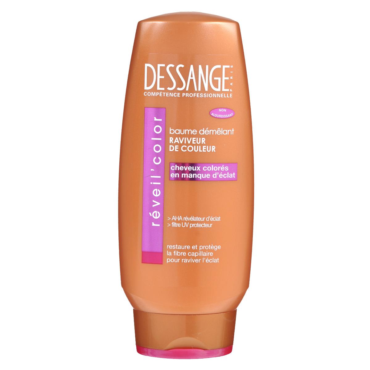 Dessange Бальзам Экстра блеск, для окрашенных волос, 200 млD0980403Бальзам для окрашенных волос «Экстра Блеск» способствует сохранению вашего оттенка. Новая формула с провитамином B5 и витамином E обладает высоким антиоксидантным и общеукрепляющим эффектом. Ваши волосы надолго остаются блестящими и послушными!