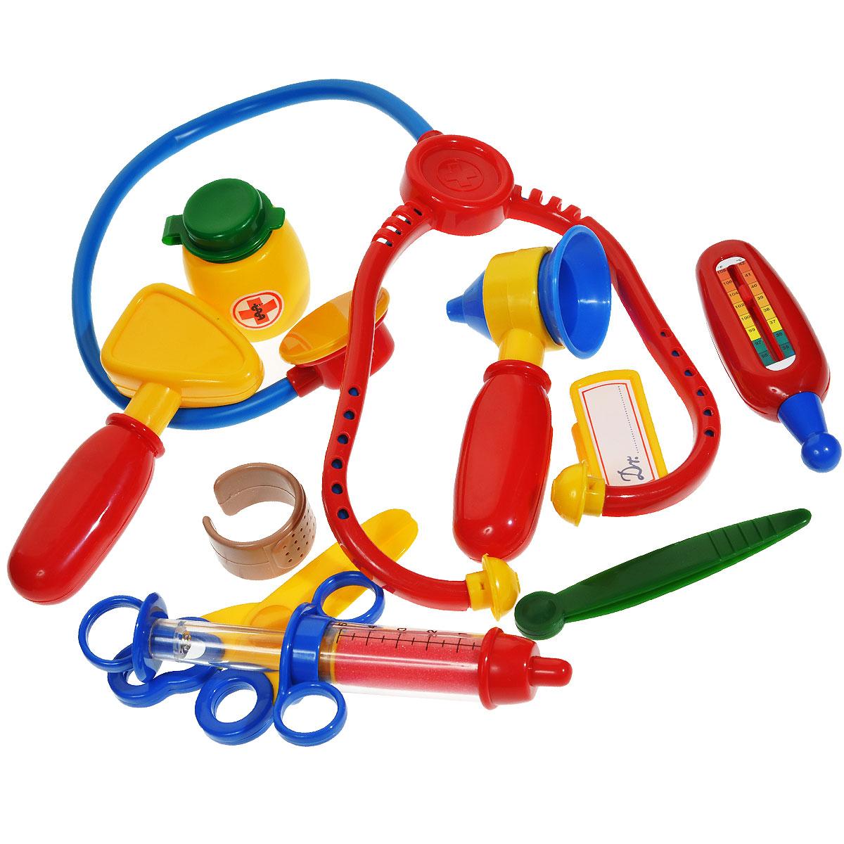 Игровой набор Klein Доктор, 11 предметов klein игровой набор bosch кухонный центр стайл 18 предметов