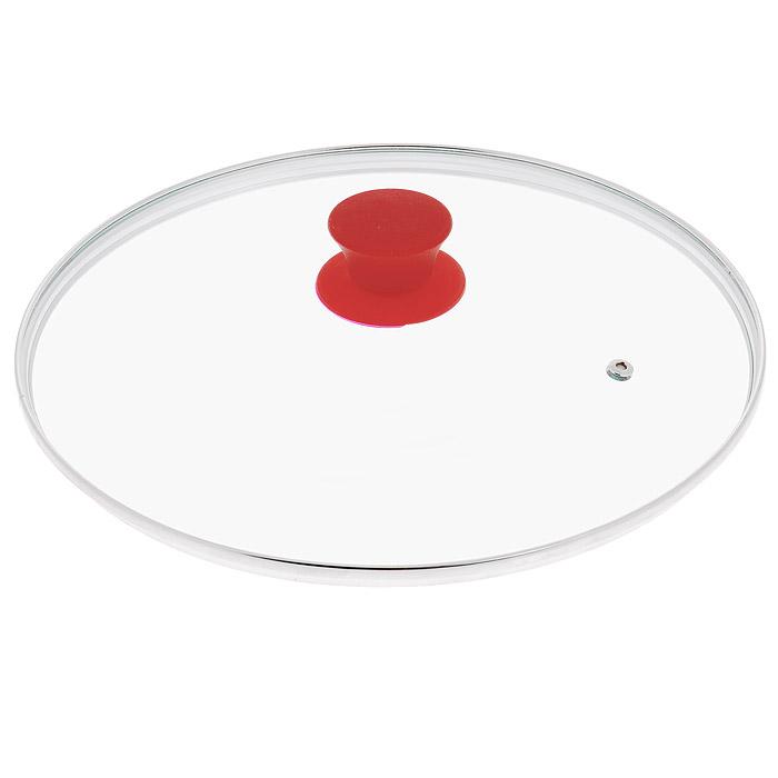 Крышка стеклянная Jarko Silk, цвет: красный. Диаметр 28 смКС*GTL28110 SilkКрышка Jarko Silk, изготовленная из термостойкого стекла, позволяет контролировать процесс приготовления пищи без потери тепла. Ободок из нержавеющей стали предотвращает сколы на стекле. Крышка оснащена отверстием для паровыпуска. Эргономичная силиконовая ручка не скользит в руках и не нагревается в процессе приготовления пищи.