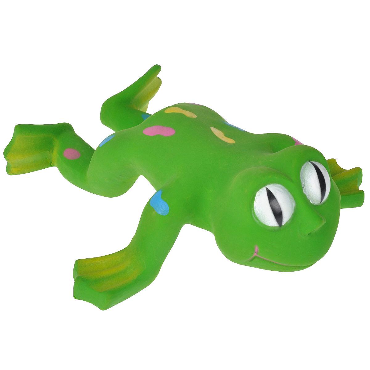 Игрушка для собак I.P.T.S. Лягушка620804Игрушка для собак I.P.T.S. Лягушка изготовлена излатекса в виде большой лягушки с цветными пятнами на спине, с пищалкой внутри. Предназначена для игр с собаками разных возрастов. Такая игрушка привлечет внимание вашего любимца и не оставит его равнодушным. Длина: 24 см.