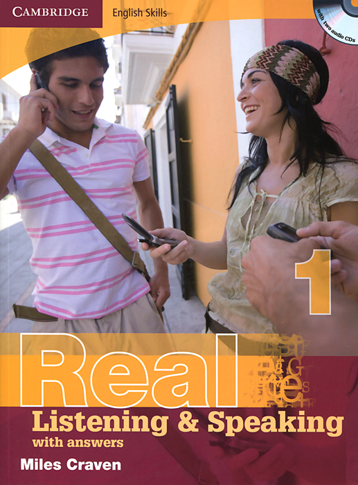 Real Listening and Speaking 1: With Answers (+ CD-ROM) at home with handwriting 1