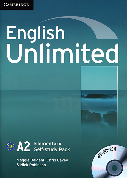 English Unlimited: Elementary Self-study Pack (+ DVD-ROM) presentations in english dvd rom