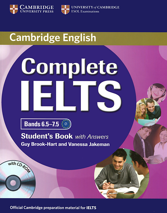 Complete IELTS: Bands 6.5-7.5: Student's Book with Answers (+ CD-ROM) complete ielts bands 5–6 5 student s book with answers with cd rom with testbank