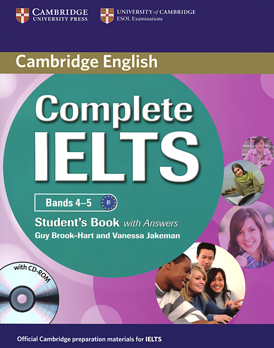 Complete IELTS: Bands 4-5: Student's Book with Answers (+ CD-ROM) complete ielts bands 5–6 5 student s book with answers with cd rom with testbank