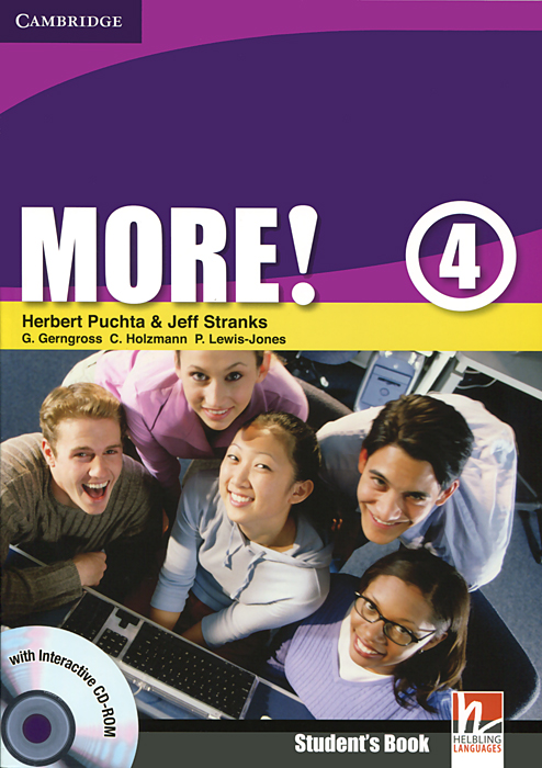 More! Level 4: Student's Book (+ CD-ROM) learn and practise english grammar 1 student s book