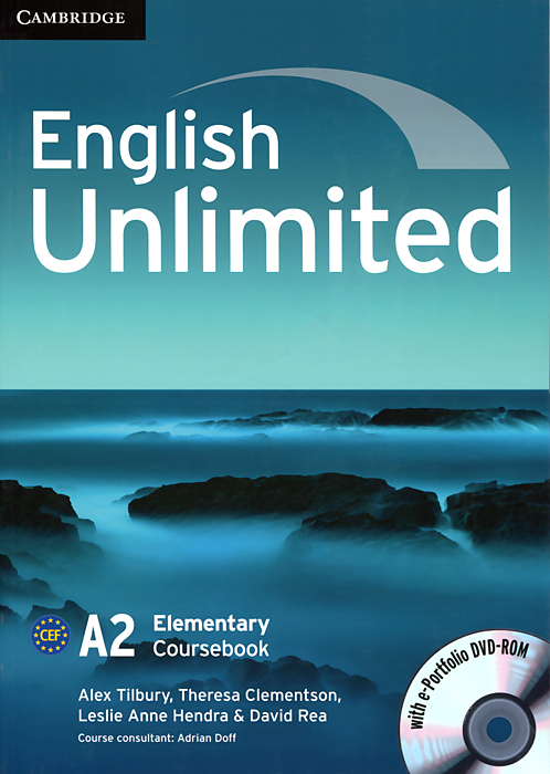 English Unlimited: Elementary Coursebook (+ DVD-ROM) english unlimited a1 starter teacher s pack dvd rom