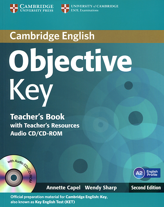Objective Key: Teacher's Book with Teacher's Resources (+ CD-ROM) objective first 4 edition workbook with answers cd rom