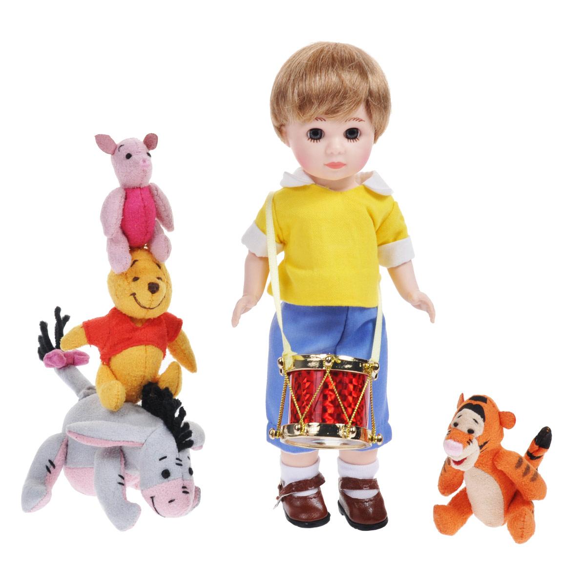 Madame Alexander Игровой набор с куклой Кристофер Робин и его друзья фигурки игрушки madame alexander набор кукол кристофер робин и его друзья 20 см коллекционные