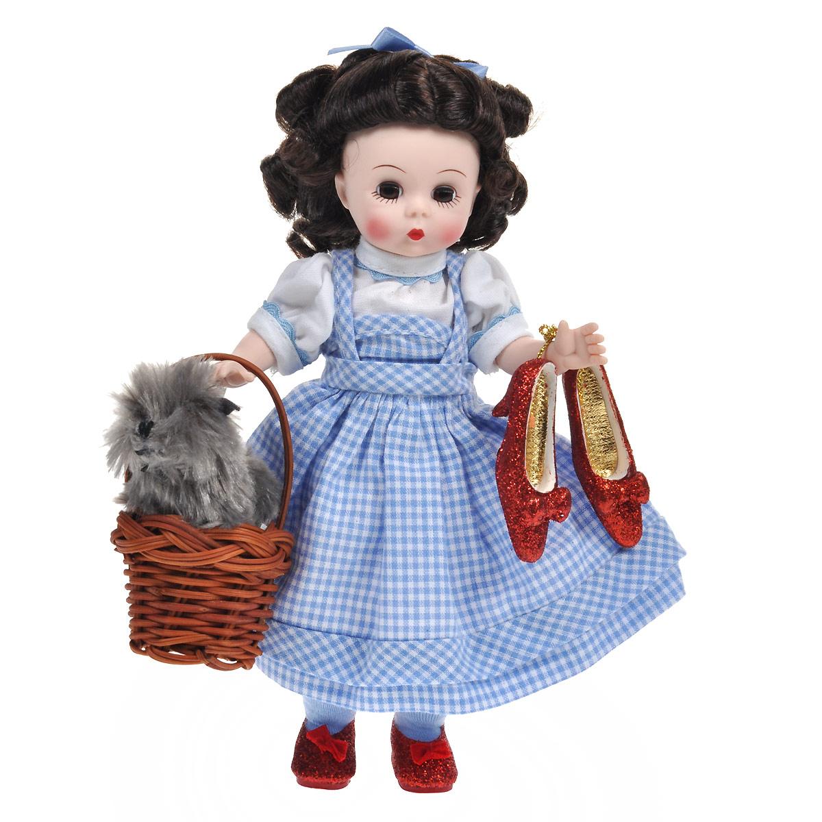 Madame Alexander Пупс Элли и Тотошка куклы и одежда для кукол madame alexander кукла фэнси нэнси русалочка 20 см