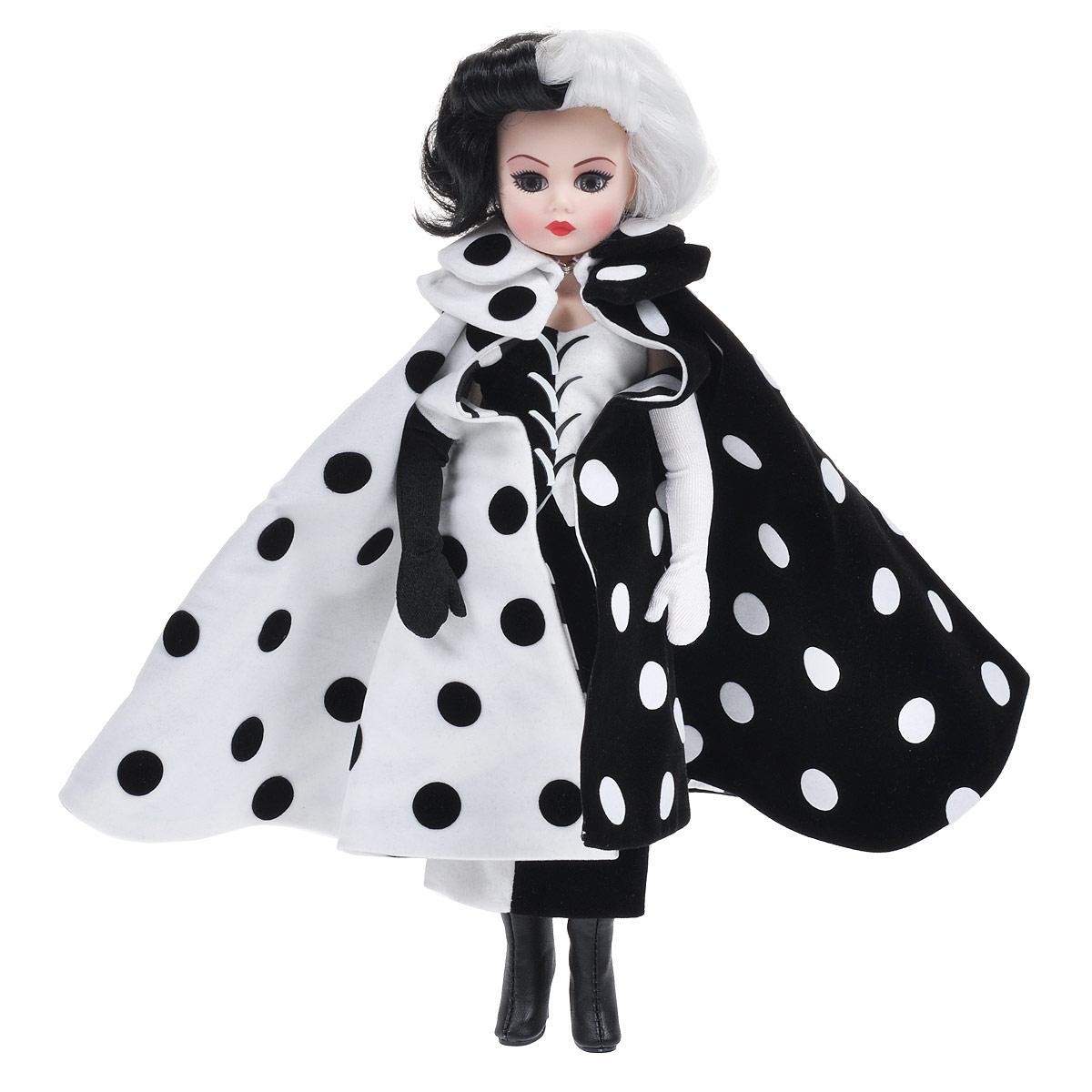 Madame Alexander Кукла Круэлла де Виль бокс рские перчатки с белым на краях