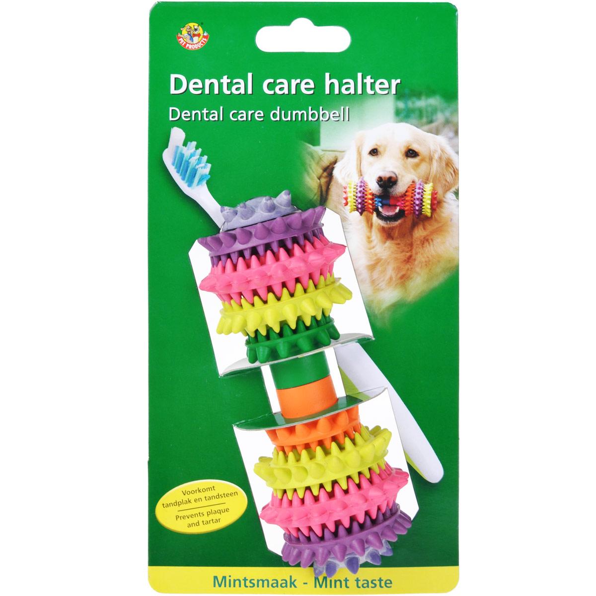Игрушка для собак I.P.T.S. Гантель шипованная, для уходя за зубами, с запахом мяты16298/625415Игрушка для собак I.P.T.S. Гантель шипованная изготовлена из резины с приятным запахом мяты в виде гантели со специальными шипами, предназначенными для ухода за зубами. Предотвращает образование зубного камня. Предназначена для игр с собаками любого возраста. Такая игрушка привлечет внимание вашего любимца и не оставит его равнодушным. Длина: 14 см.