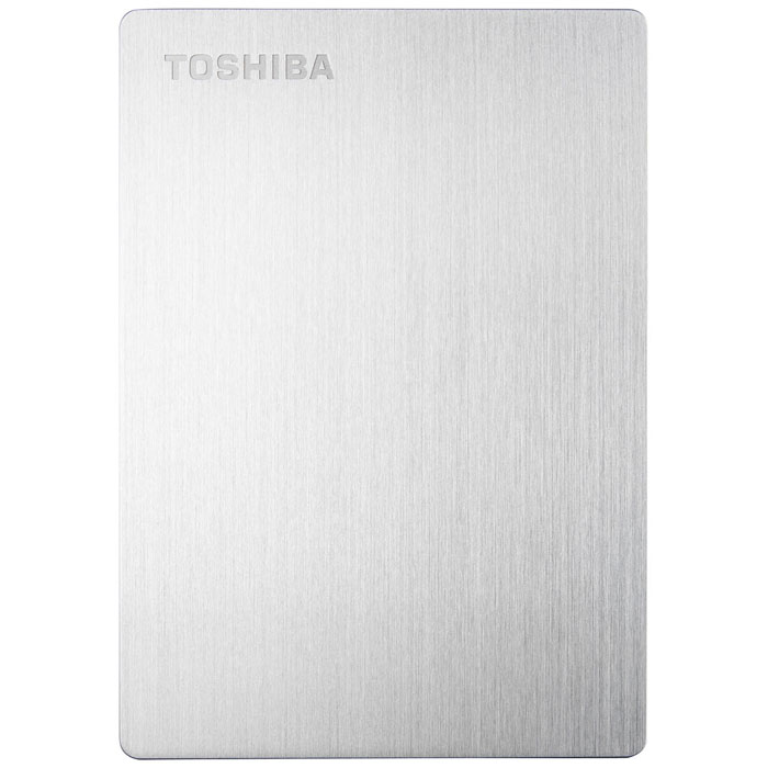 Toshiba Stor.E Slim For Mac 1TB, Silver внешний накопитель (HDTD210ESMEA)HDTD210ESMEAПортативный жесткий диск Toshiba STOR.E SLIM FOR MAC - отличное решение для безопасного хранения ирезервного копирования ваших данных. Благодаря своим компактным размерам устройство подходит дляиспользования в качестве переносного накопителя. На диске установлено программное обеспечение NTI BackupNow EZ, предназначенное для автоматического резервного копирования. Передача данных происходит сиспользованием интерфейса USB 3.0, что делает этот процесс более быстрым. Диск предназначен дляиспользования с компьютерами Mac.