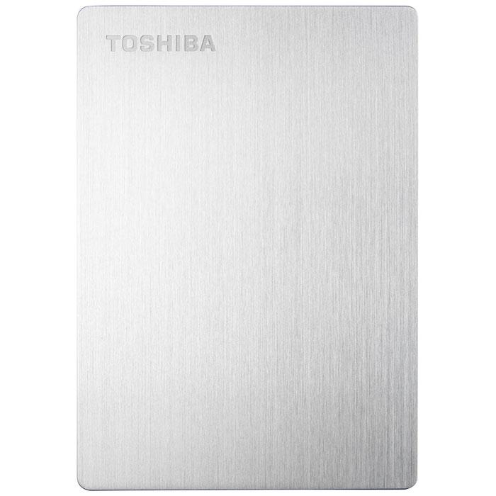 Toshiba Stor.E Slim For Mac 1TB, Silver внешний накопитель (HDTD210ESMEA) - Носители информации