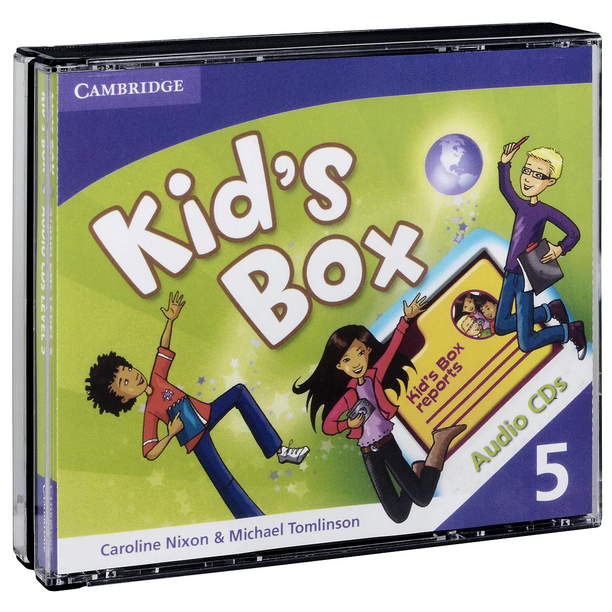 Kid's Box 5 (аудиокурс на 3 CD) русский для всех 1000 практических упражнений уровень 3 cd