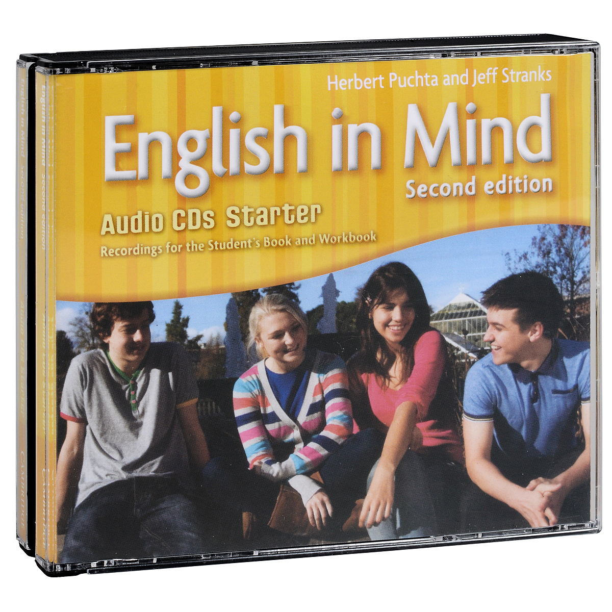 English in Mind: Starter Level: Student's Book and Workbook (аудиокурс на 3 CD) blue fins starter level cd rom