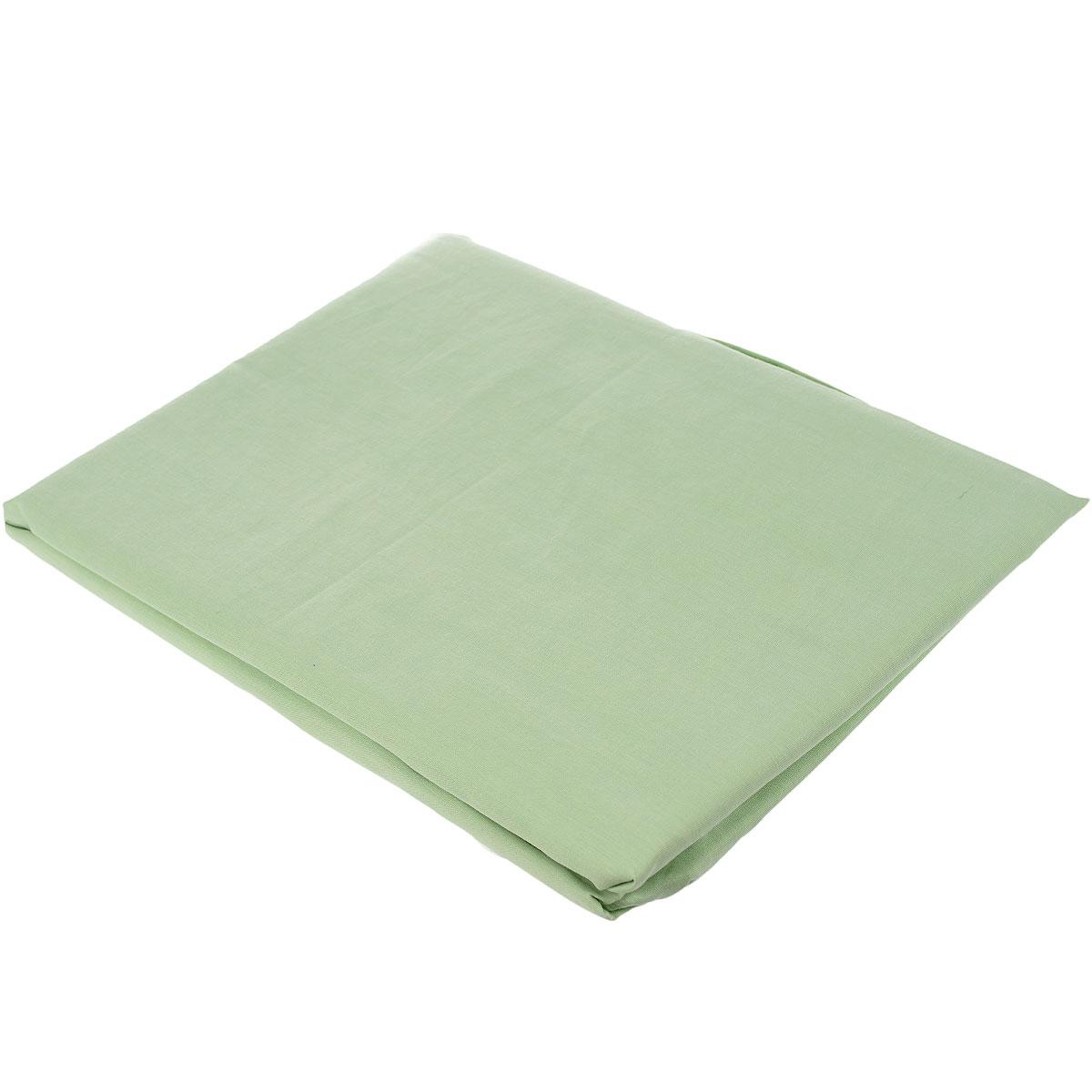 "Простыня на резинке ""Style"", цвет: зеленый, 180 см х 200 см. 114911407, Primavelle"